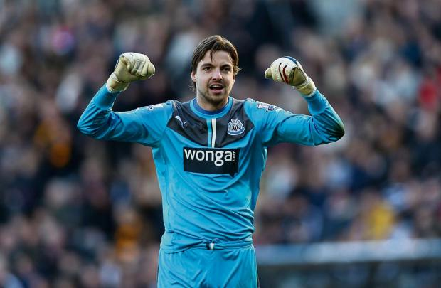 The Advertiser Series: INVESTIGATION CALL: The Law Society has increased calls for a criminal investigation into Wonga over fake legal letters sent to customers. Wonga sponsors Newcastle United's shirts, here shown by goalkeeper Tim Krul