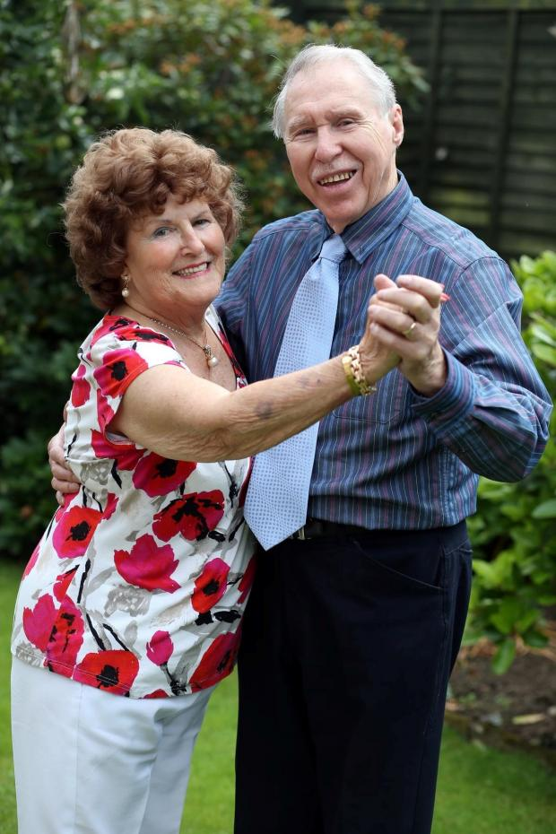 The Advertiser Series: DANCING THE YEARS AWAY: Des and Elizabeth Thirtle are celebrating their diamond wedding anniversary  Picture: CHRIS BOOTH