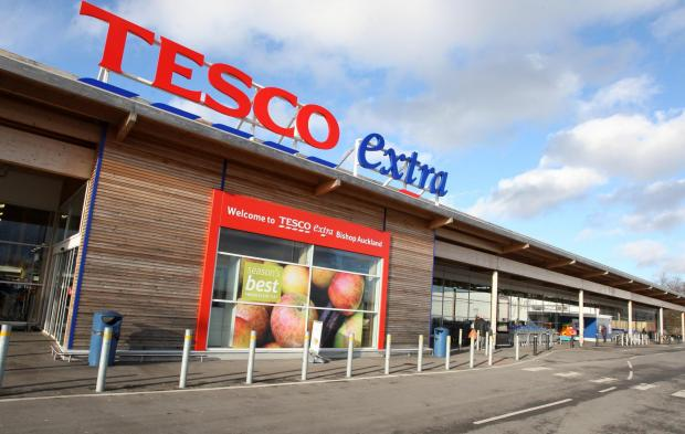 The Advertiser Series: MORE TIME: Tesco's store in Bishop Auckland. Company bosses have asked for more time to turn the business around.