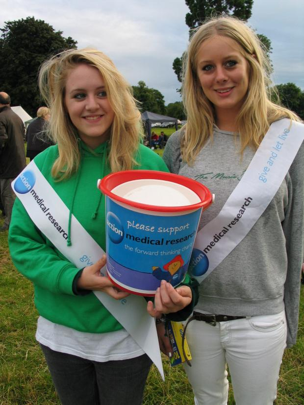 The Advertiser Series: CHARITABLE CAUSE: Action Medical Research fundraisers at last year's Picnic In The Park