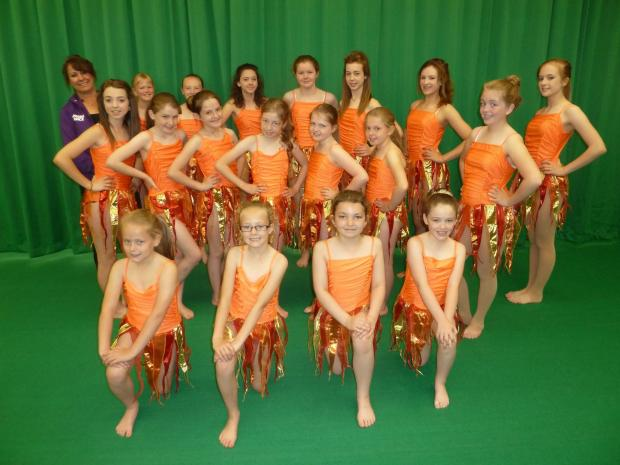 The Advertiser Series: Some of the young dancers who will compete at the National Festival of Fitness, Movement and Dance