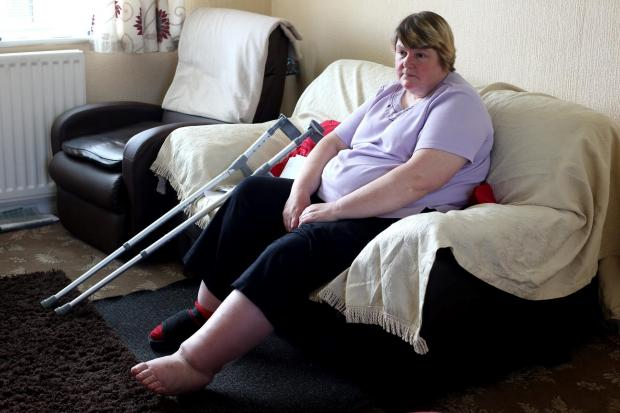 The Advertiser Series: HOUSE BOUND: Pamela Johnson, of Ferryhill, who has been told that she is fit for work.