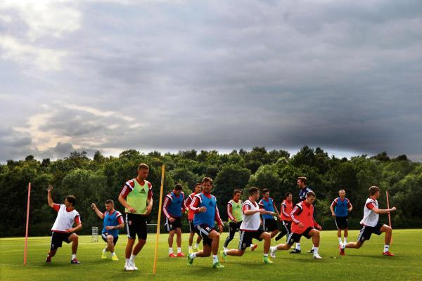 The Advertiser Series: BACK TO WORK: Middlesbrough squad train for first time this summer