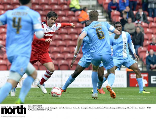The Advertiser Series: On his way: Will Sunderland's Danny Graham be back at Middlesbrough next season?
