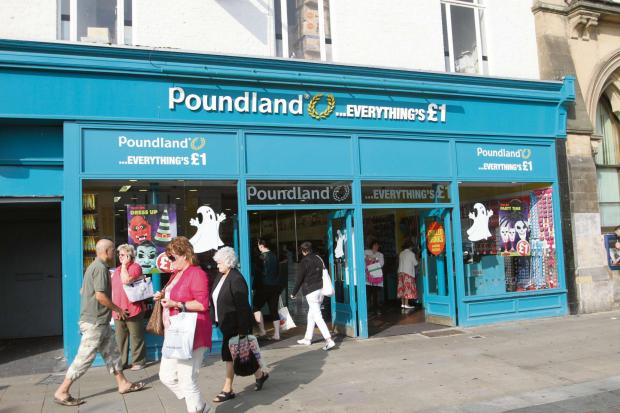 The Advertiser Series: EXPANSION PLANS: Poundland is looking to create 1,000 jobs. Pictured is its branch in High Row, Darlington