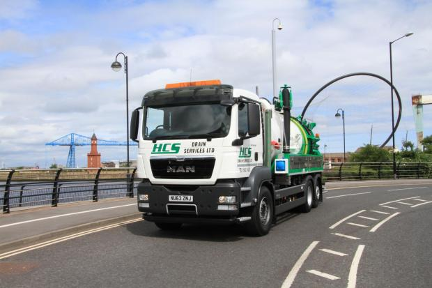 The Advertiser Series: MAJOR INVESTMENT: One of HCS Drain Services' new vehicles, which it will use to target new work