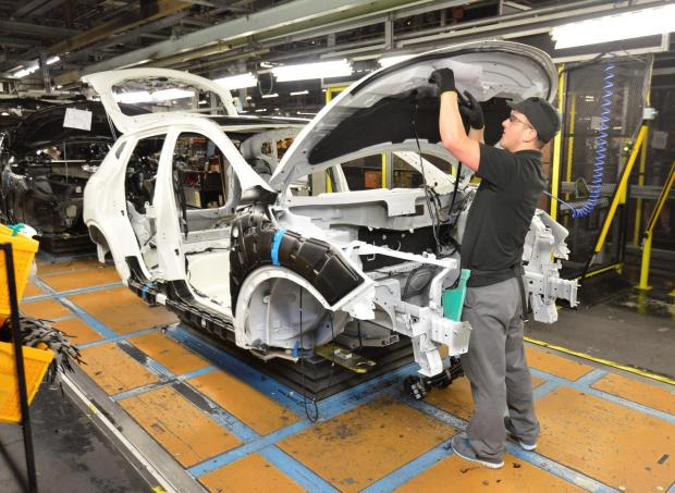 The Advertiser Series: MOTORING ON: Work continues on the Qashqai production line at Nissan's Sunderland plant