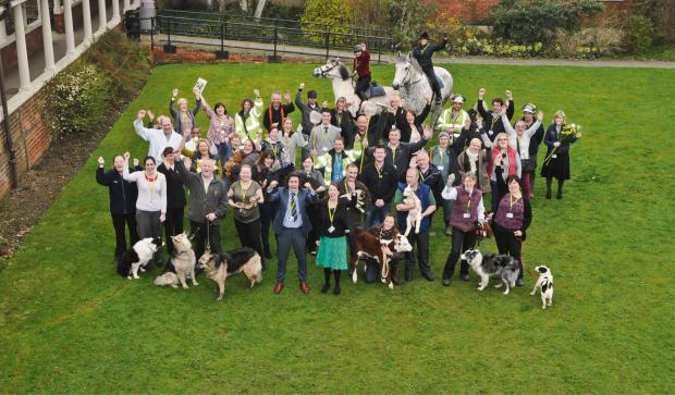 The Advertiser Series: MAJOR DEVELOPMENT: East Durham College Houghall staff celebrate £10m of growth funding