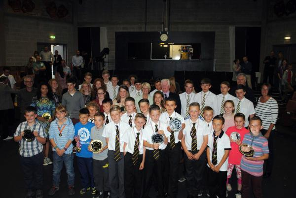 The Advertiser Series: YOUNG STARS: Award recipients in the recent Darlington Sports Winners awards