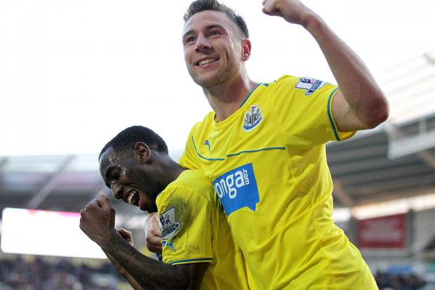 The Advertiser Series: LOAN STAR: Paul Dummett (right) will be allowed to leave Newcastle United to join a Championship club on loan in the first half of next season