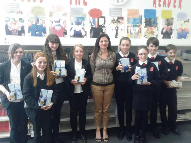 The Advertiser Series: BOOK BASH: The competition winners with author Sufiya Ahmed