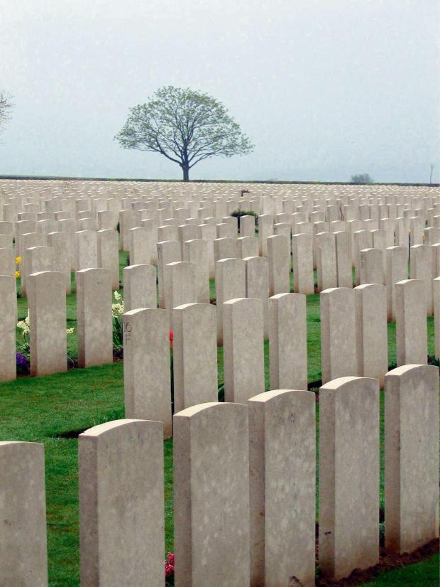 The Advertiser Series: SOMBRE SCENE: Caterpillar Valley Cemetery, in the Somme, France