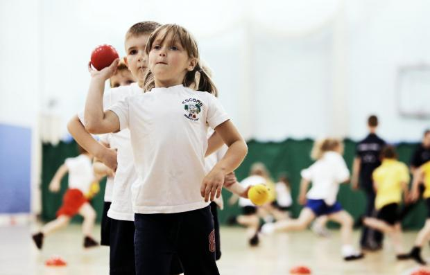 The Advertiser Series: BALL GAMES: Pupils from Escomb P