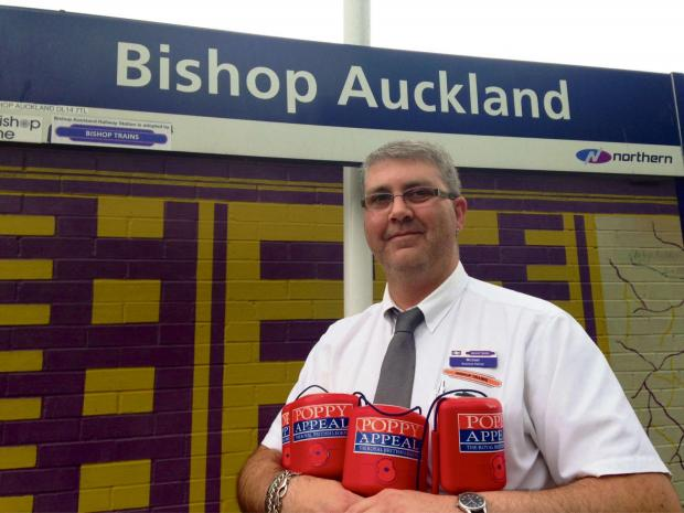 The Advertiser Series: VOLUNTARY POST: Michael Wilkinson will organise the Royal British Legion poppy appeal in the Bishop Auckland area