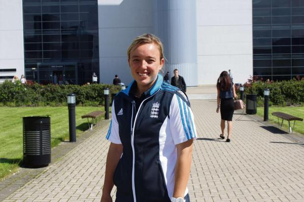 The Advertiser Series: BACK HOME: England cricketer Danni Hazell