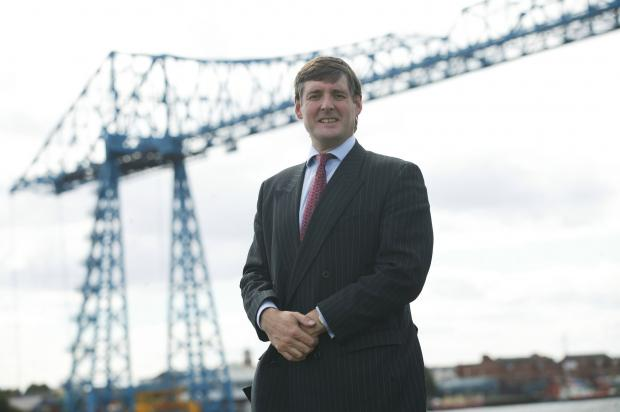 The Advertiser Series: James Ramsbotham with Middlesbrough Transporter Bridge in the background