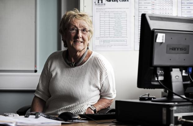 The Advertiser Series: FOND MEMORIES: Mildred Howell prior to teaching her last lesson at Hurworth School. Pictures: STUART BOULTON