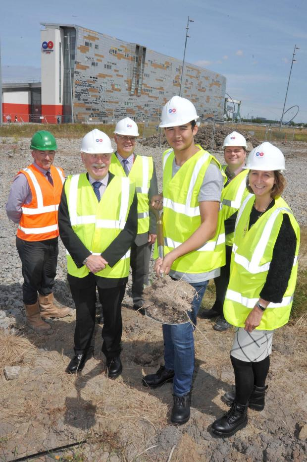 The Advertiser Series: The first sod was dug at the site for the new Middlesbrough College STEM Centre