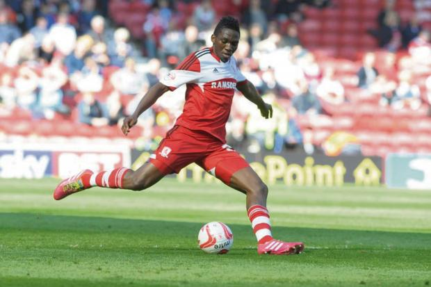 The Advertiser Series: BACK AT BORO: Kenneth Omeruo has re-signed for Middlesbrough on a season-long loan
