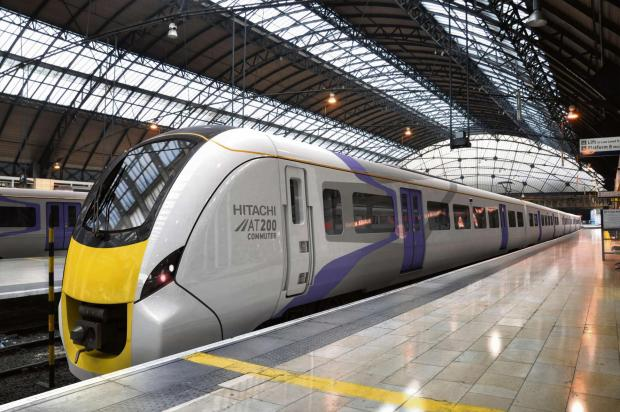 The Advertiser Series: Hitachi Rail Europe's AT200 train which will be built at Newton Aycliffe, County Durham