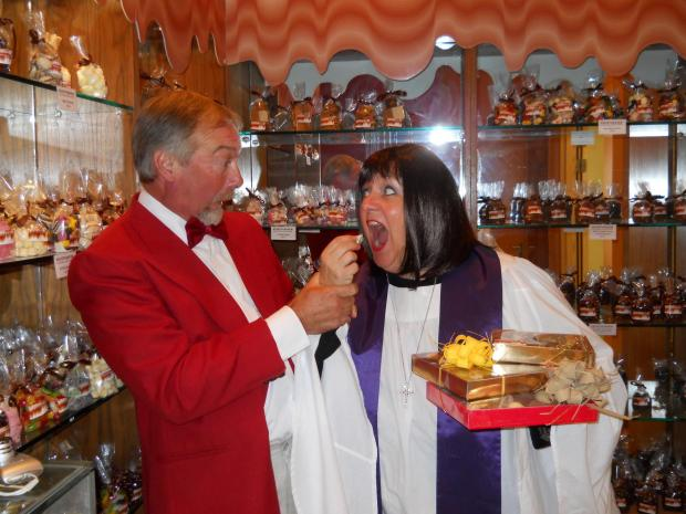 The Advertiser Series: Chocolate lover: Vicar of Dibley Geraldine, played by Ann Gree
