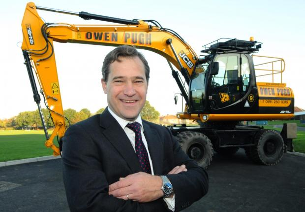 The Advertiser Series: SECTOR WARNING: John Dickson, chairman of the Owen Pugh Group