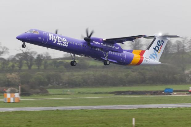 The Advertiser Series: Flybe will operate a 78-seat Bombardier Q400 aircraft on the Newcastle to Exeter route