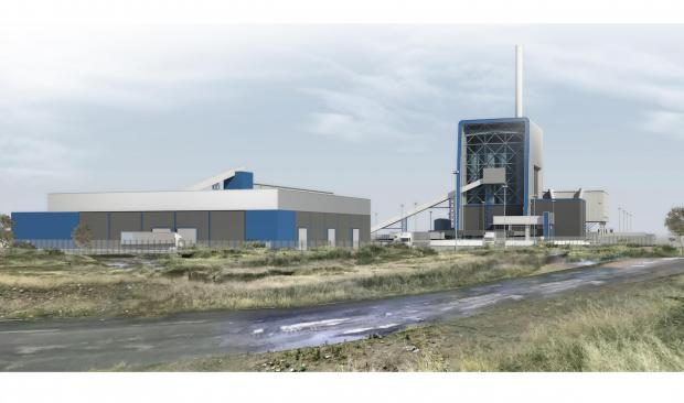 The Advertiser Series: NEW BUILD: An artist's impression of the biomass plant at Port Clarence