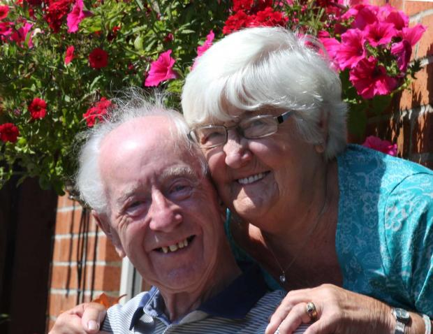The Advertiser Series: DIAMOND COUPLE: Ronnie and Betty Baty of Framwellgate Moor who celebrate their diamond wedding       Picture: AN