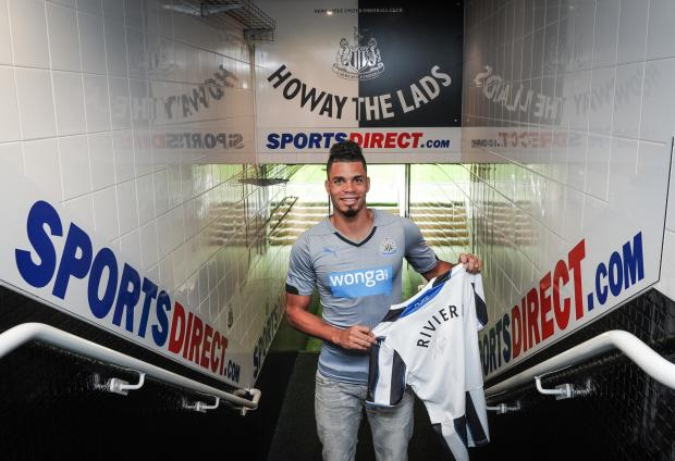 The Advertiser Series: Summer signing: Emmanuel Riviere arrives from Monaco earlier this month and Newcastle would prefer one more forward