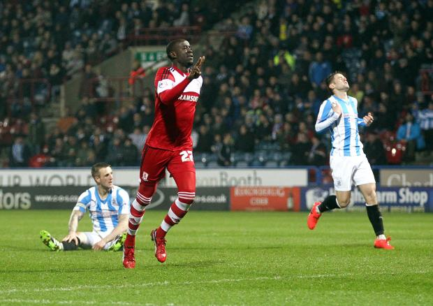 The Advertiser Series: Top scorer: Middlesbrough's Albert Adomah was the team's leading scorer last season from the wing