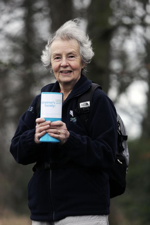 The Advertiser Series: FIT FUNDS: Christine Wright, 74, walked the equivalent of a