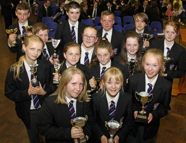 The Advertiser Series: OUTSTANDING ACHIEVEMENT: Prize winners at Durham Free School's first presentation evening