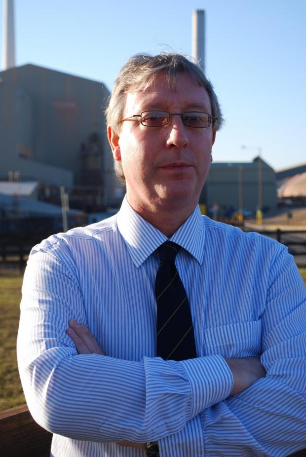 The Advertiser Series: CAREER CHANGE: Phil Baines, managing director at Cleveland Potash, in Boulby, east Cleveland, is moving to work in Ethiopia