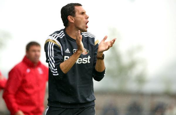 The Advertiser Series: FRIENDLY WOE: Sunderland boss Gustavo Poyet fielded a strong side last, but saw his team lose 1-0