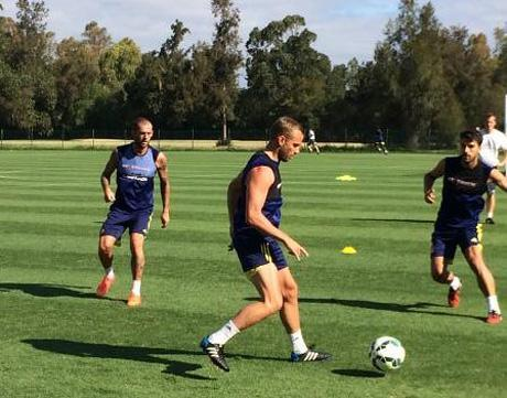 The Advertiser Series: Sunderland players are taking part in double training sessions during their pre-season in the Algarve