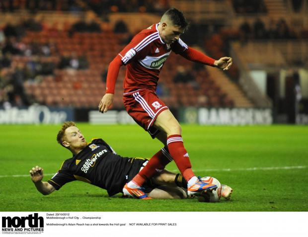 The Advertiser Series: FIRST TEAM PLANS: Adam Reach has targeted a regular spot in Aitor Karanka's team this season