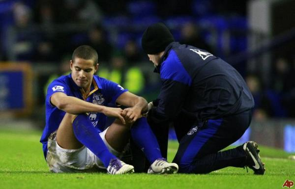 The Advertiser Series: WRONG IMAGE: Jack Rodwell claims the view of him as an injury-prone player is an unfair one