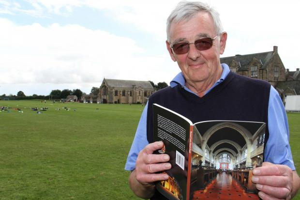 The Advertiser Series: Governor Malcolm McCallum with his new book tracing the history of Barnard Castle School chapel