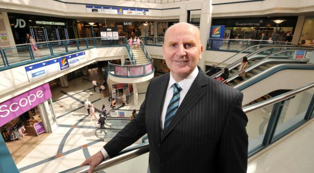 The Advertiser Series: David Flynn has swapped a life in the Armed Forces for a role at Darlington's Cornmill Shopping Centre