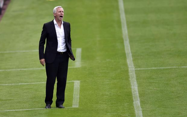The Advertiser Series: HAPPY MAN: Alan Pardew claims he is happy with Newcastle's summer transfer business - and will not be worried if they do not make any more signings