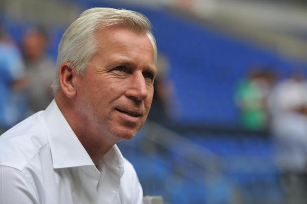 The Advertiser Series: HAPPY: Alan Pardew was pleased with Newcastle's performance at Aston Villa, but admits they should have won