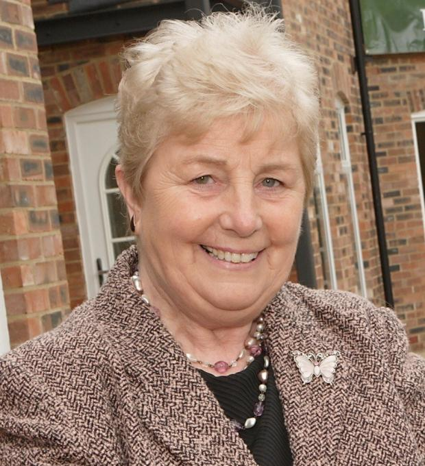 The Advertiser Series: DEVELOPMENT OPPOSED: Middleton St George ward councillor and parish council chair, Doris Jones, says the village doesn't need any more homes