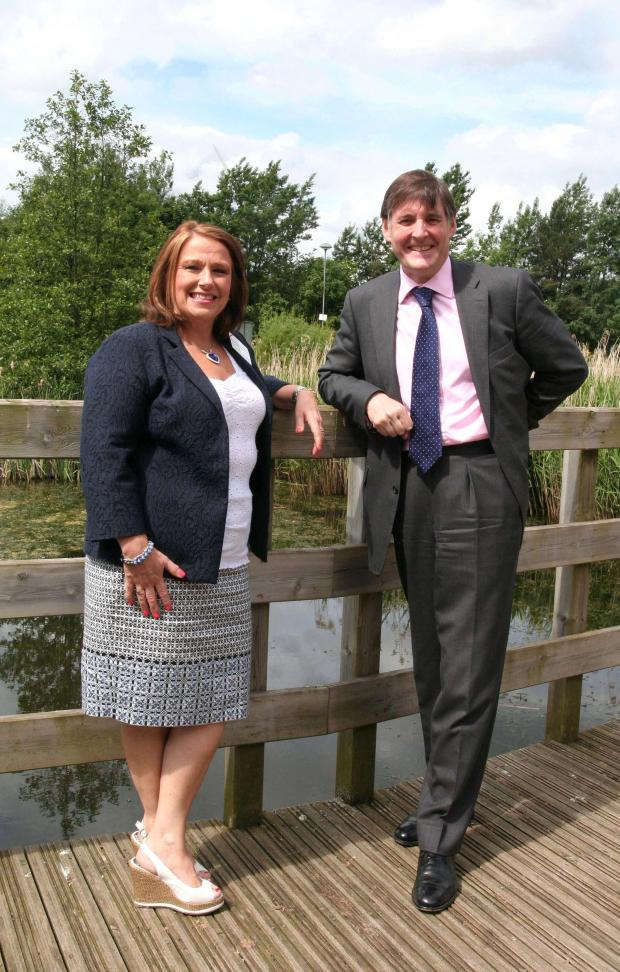 The Advertiser Series: Chair of NECC Women's Advisory Board Nickie Gott with NECC Chief Executive J