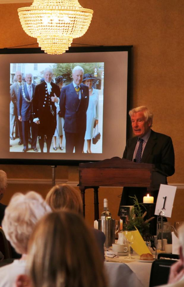 The Advertiser Series: GUEST SPEAKER: Lord Crathorne at the Samaritans 50th anniversary lunch in Northallerton
