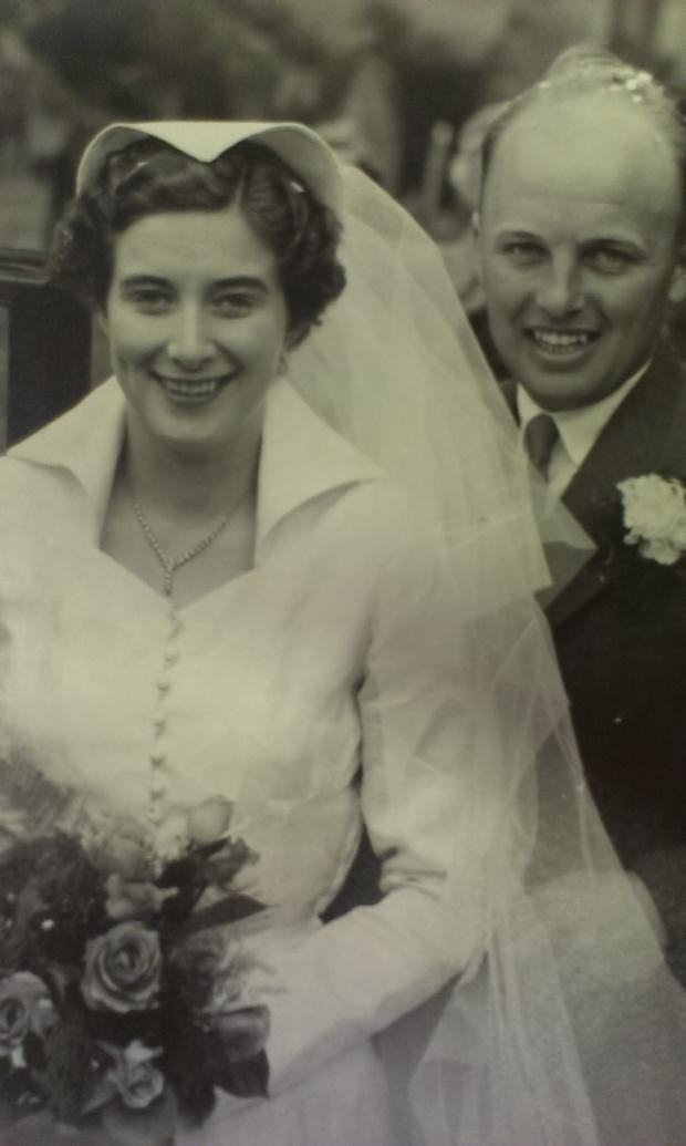 The Advertiser Series: WEDDING DAY: Doreen and Gerald Swainston
