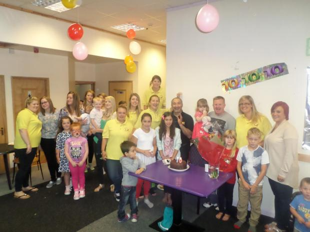 The Advertiser Series: Staff and children at the Big Kids Little Kids nursery in Darlington celebrat
