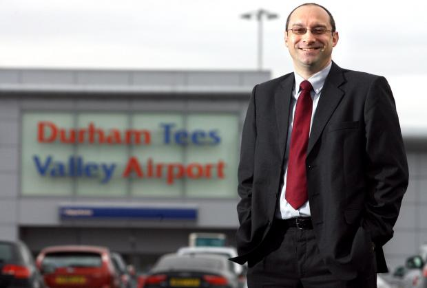 The Advertiser Series: Andy Foulds has left his position as Commercial Director at Durham Tees Valley Airport