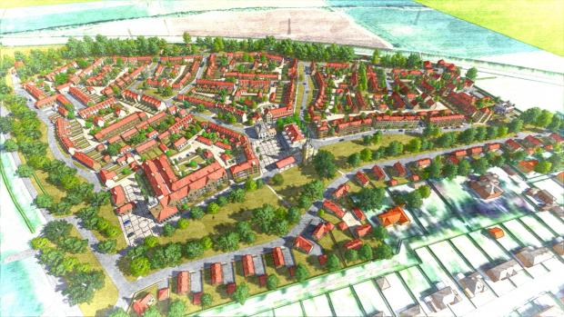 The Advertiser Series: ESTATE PLAN: An artist's impression of the High Malton deve