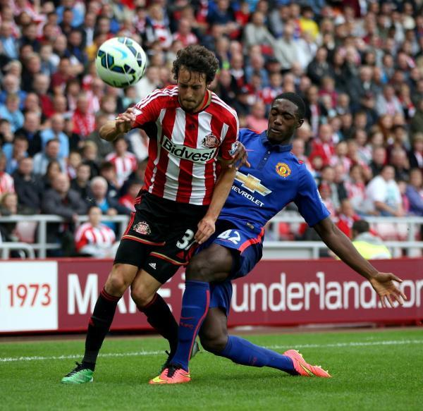 The Advertiser Series: INSTANT IMPRESSION: Sunderland new boy Will Buckley, in action against Manchester United